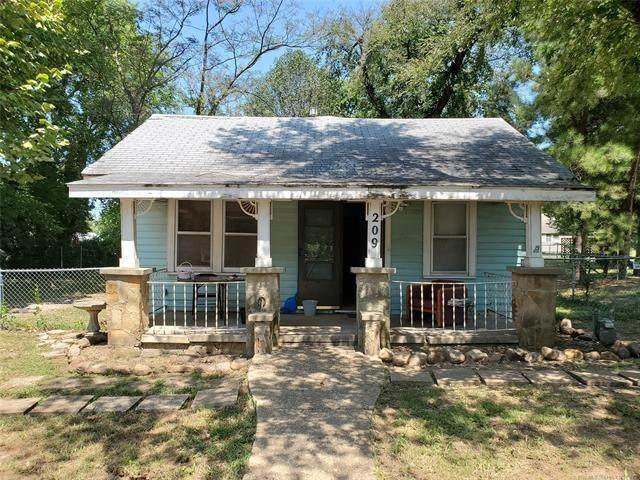 209 W Burnham Avenue, Sapulpa, OK 74066 (MLS #2031340) :: Active Real Estate