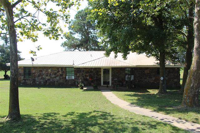 21349 E County Road 1200, Keota, OK 74941 (MLS #2032958) :: Hopper Group at RE/MAX Results