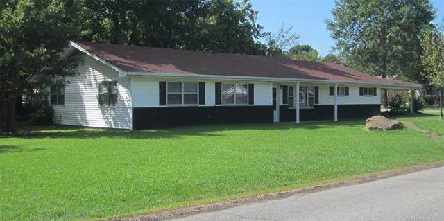 911 NW 5th Street, Stigler, OK 74462 (MLS #2033296) :: Hopper Group at RE/MAX Results