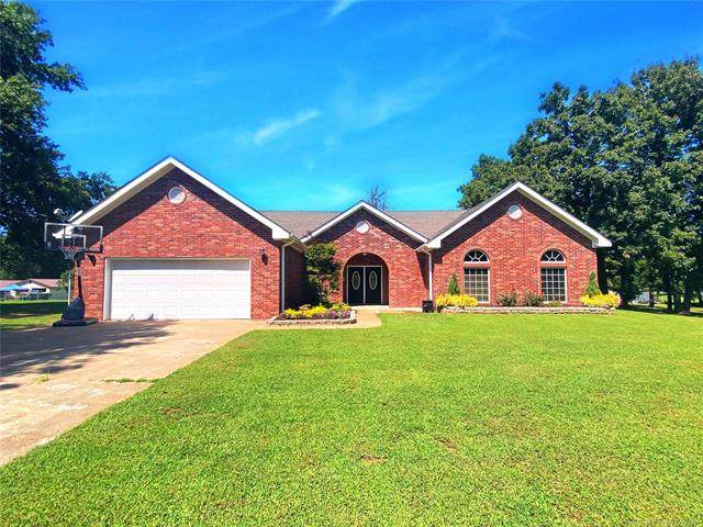 415747 E 1094 Road, Checotah, OK 74426 (MLS #2033314) :: Hopper Group at RE/MAX Results