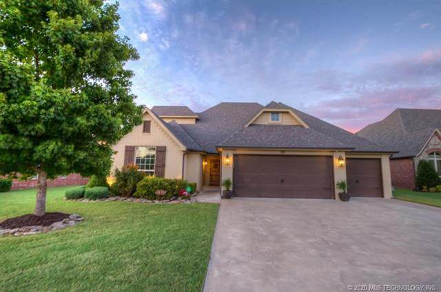 121 E 128th Street, Jenks, OK 74037 (MLS #2033414) :: Hopper Group at RE/MAX Results