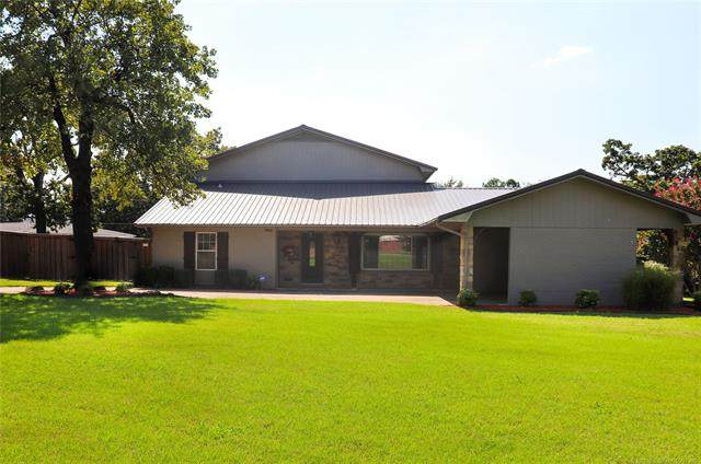 1105 Circle Drive, Mcalester, OK 74501 (MLS #2033800) :: Active Real Estate