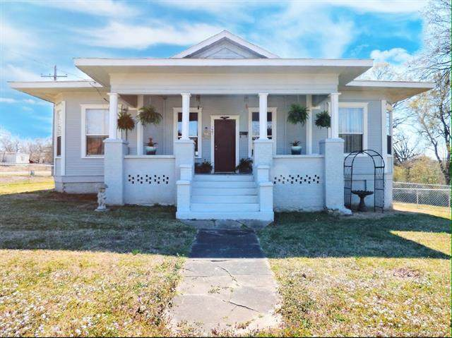 1001 N 7th Street, Quinton, OK 74561 (MLS #2033957) :: Active Real Estate