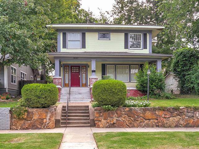 1443 S Elwood Avenue, Tulsa, OK 74119 (MLS #2034130) :: Active Real Estate