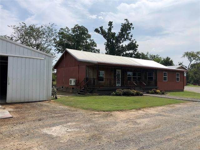 122 S 4 Mile Road, Fort Gibson, OK 74434 (MLS #2034242) :: Hopper Group at RE/MAX Results