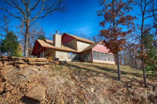 96043 S Redbud Lane, Gore, OK 74435 (MLS #2034701) :: Hometown Home & Ranch