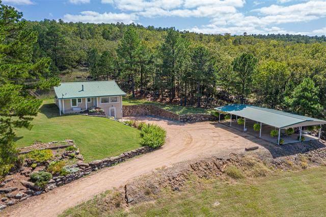 5288 N Miller Road, Stringtown, OK 74569 (MLS #2035480) :: Active Real Estate