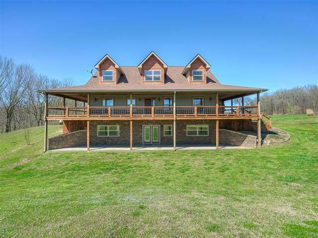 7626 County Road 396, Eucha, OK 74342 (MLS #2035863) :: Hometown Home & Ranch
