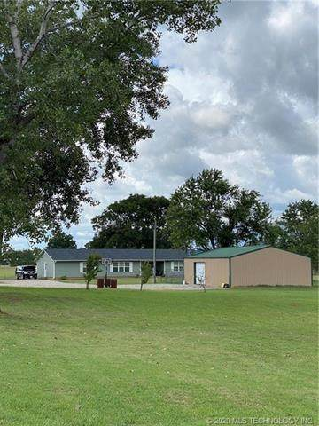 3899 N 372 Road, Holdenville, OK 74848 (MLS #2035905) :: RE/MAX T-town