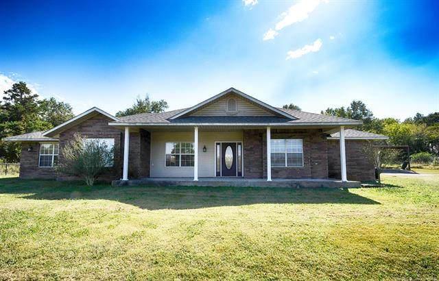 27120 Buck Creek Road, Bokoshe, OK 74930 (MLS #2037021) :: Hometown Home & Ranch