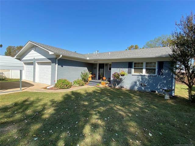 102 W Broadway, Allen, OK 74825 (MLS #2037137) :: Hometown Home & Ranch