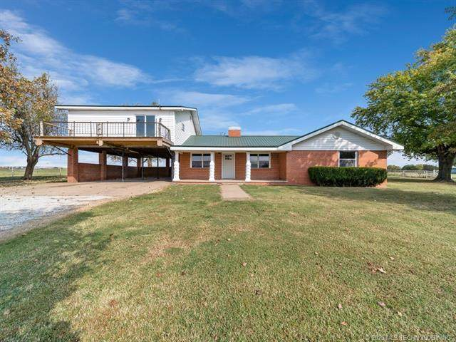 23199 S 4400, Vinita, OK 74301 (MLS #2037366) :: Hometown Home & Ranch