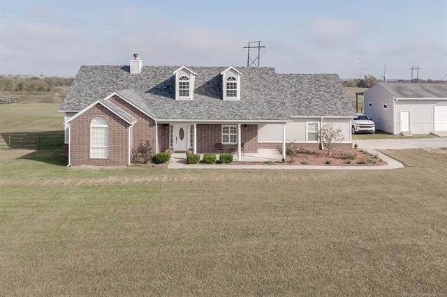 2993 N 197 Road, Beggs, OK 74421 (MLS #2037434) :: Hometown Home & Ranch