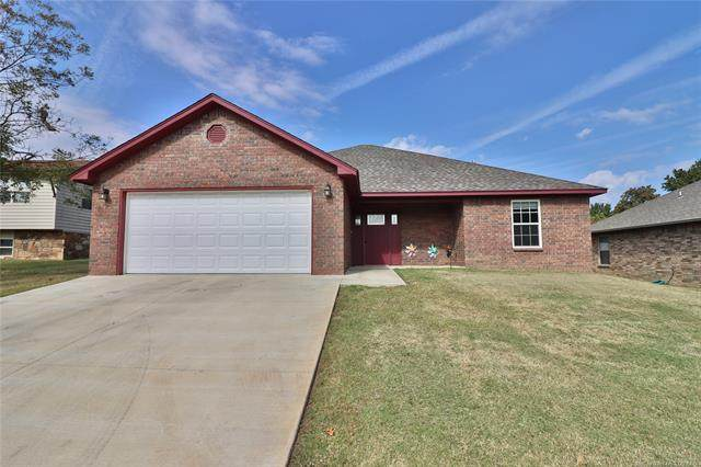 692 Gibson Place, Mannford, OK 74044 (MLS #2037705) :: Hometown Home & Ranch