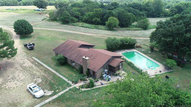 9459 W Shady Grove, Hulbert, OK 74441 (MLS #2038012) :: Hometown Home & Ranch