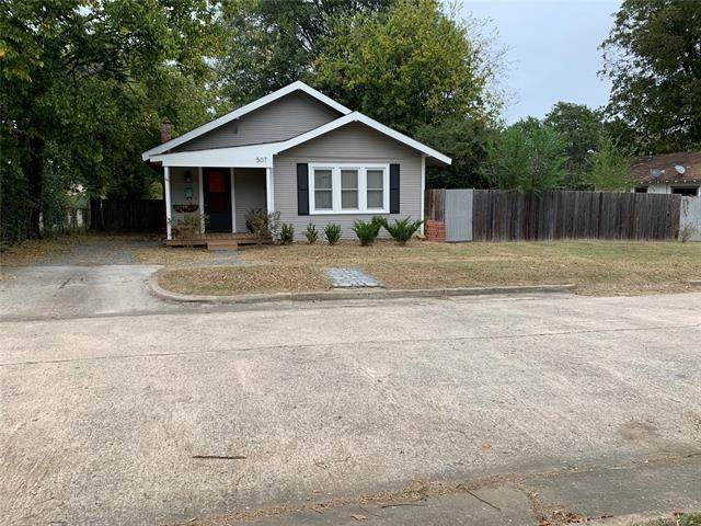 507 Wichita Avenue, Mcalester, OK 74501 (MLS #2038076) :: 580 Realty