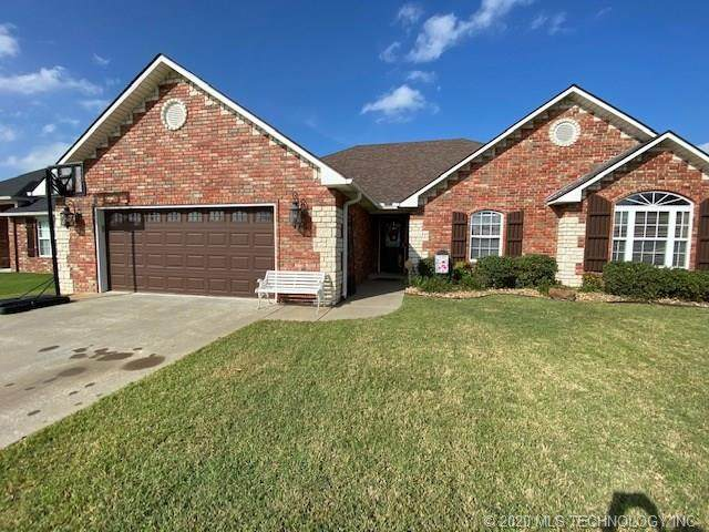 1405 Sweetgum Place, Mcalester, OK 74501 (MLS #2038287) :: 580 Realty