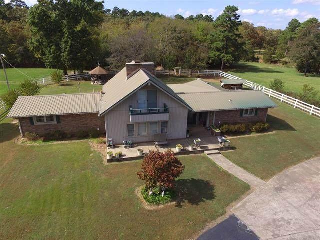 28607 N Whispering Pines Lane, Poteau, OK 74953 (MLS #2038352) :: Hometown Home & Ranch