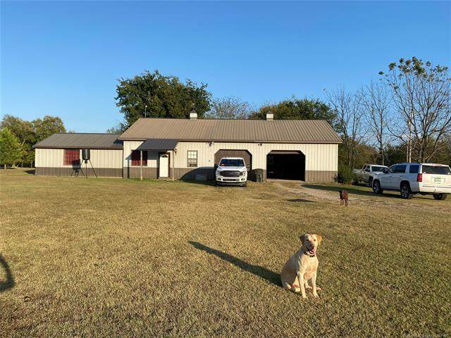 415827 E 1060 Road, Checotah, OK 74426 (MLS #2038361) :: RE/MAX T-town