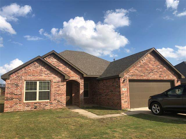 138 Glenbrook Drive, Calera, OK 74730 (MLS #2038371) :: 918HomeTeam - KW Realty Preferred