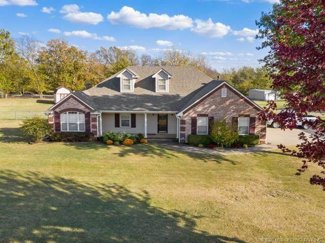 18227 S Quail Meadow Drive, Claremore, OK 74017 (MLS #2038569) :: Hometown Home & Ranch