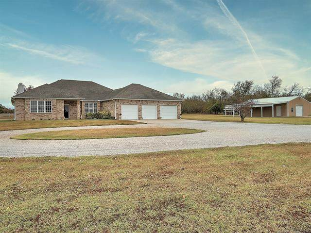 10541 S 161st West Avenue, Sapulpa, OK 74066 (MLS #2038719) :: Active Real Estate