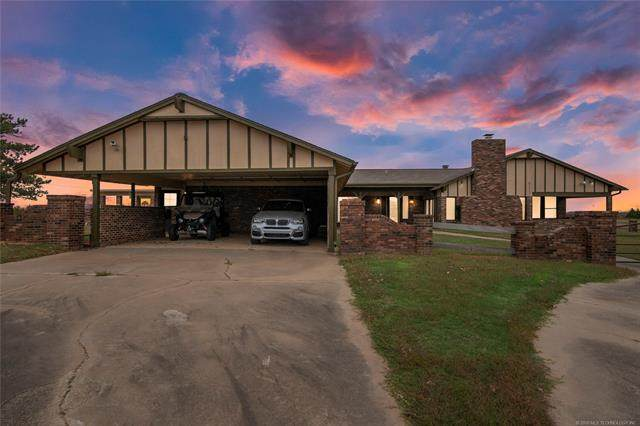 20920 Milfay Road, Depew, OK 74028 (MLS #2038823) :: Active Real Estate
