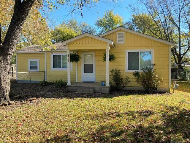 407 2nd Avenue, Warner, OK 74469 (MLS #2039418) :: Hometown Home & Ranch