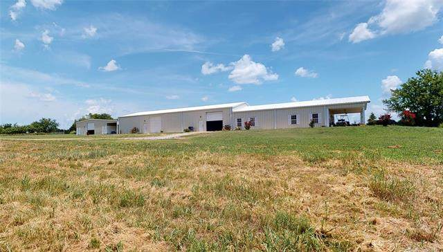 9721 Red Gate Ranch Road, Wynnewood, OK 73098 (MLS #2039516) :: Hometown Home & Ranch