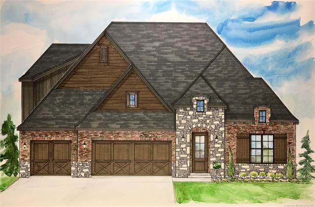 16711 E 43rd Street S, Tulsa, OK 74134 (MLS #2040686) :: 918HomeTeam - KW Realty Preferred