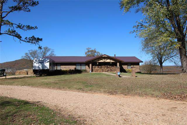 1000 Ottawa Street, Marble City, OK 74945 (MLS #2041753) :: Hometown Home & Ranch