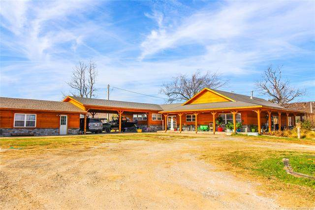 119032 S 4060 Road, Eufaula, OK 74432 (MLS #2042126) :: Hopper Group at RE/MAX Results