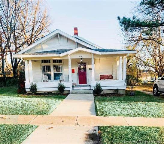 406 W Tishomingo Street, Madill, OK 73446 (MLS #2042499) :: Active Real Estate