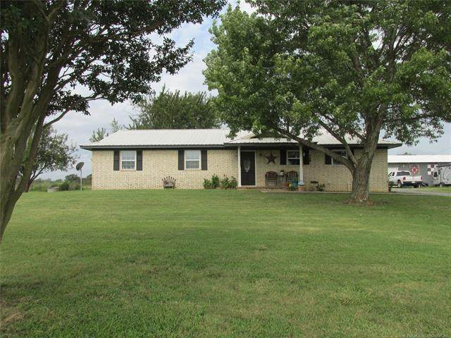 3582 S Bache Road, Mcalester, OK 74501 (MLS #2042531) :: Hopper Group at RE/MAX Results