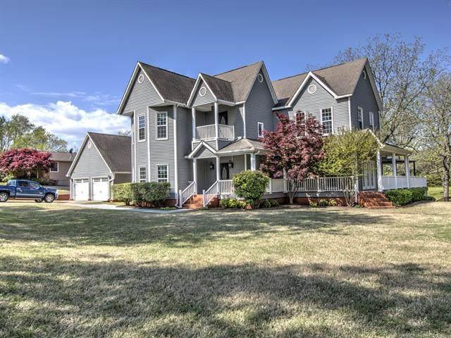 1130 Deer Creek Road, Pryor, OK 74361 (MLS #2042765) :: RE/MAX T-town
