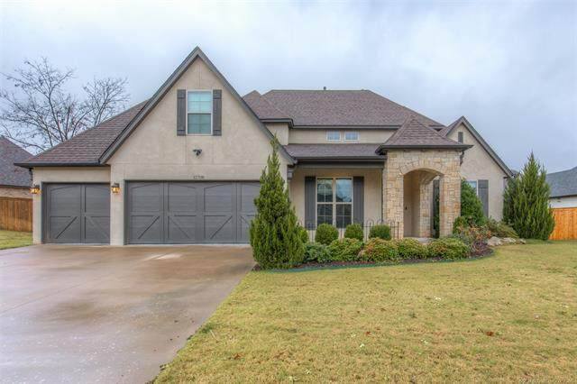 12708 S 3rd Street, Jenks, OK 74037 (MLS #2042903) :: Hopper Group at RE/MAX Results