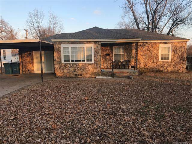 802 S Howerton Avenue, Cushing, OK 74023 (MLS #2043571) :: 580 Realty