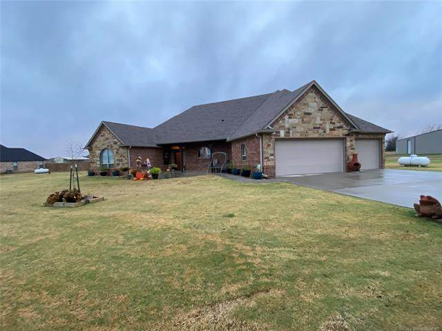 345 Buck Trail, Durant, OK 74701 (MLS #2044184) :: RE/MAX T-town
