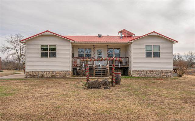 17206 State Hwy 48 Street W, Coalgate, OK 74538 (MLS #2044335) :: 580 Realty