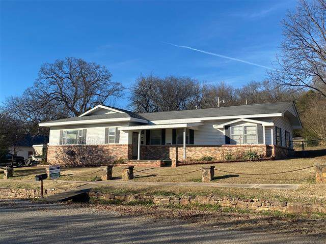 101 W Caddo, Wilburton, OK 74578 (MLS #2044431) :: Hopper Group at RE/MAX Results