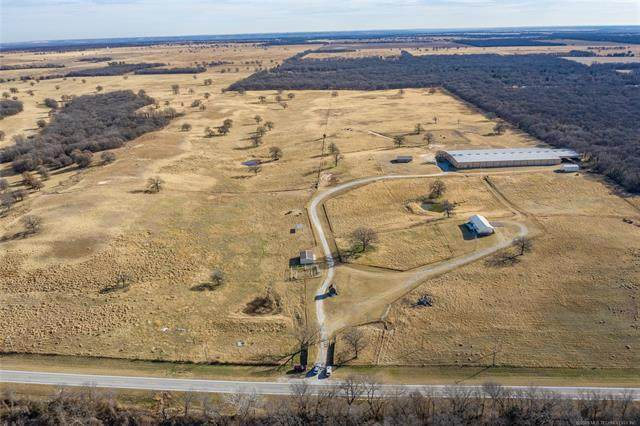9647 S State Highway 76, Burneyville, OK 73430 (MLS #2044572) :: RE/MAX T-town