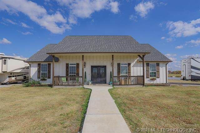 527 E 171st Street S, Glenpool, OK 74033 (MLS #2044604) :: RE/MAX T-town