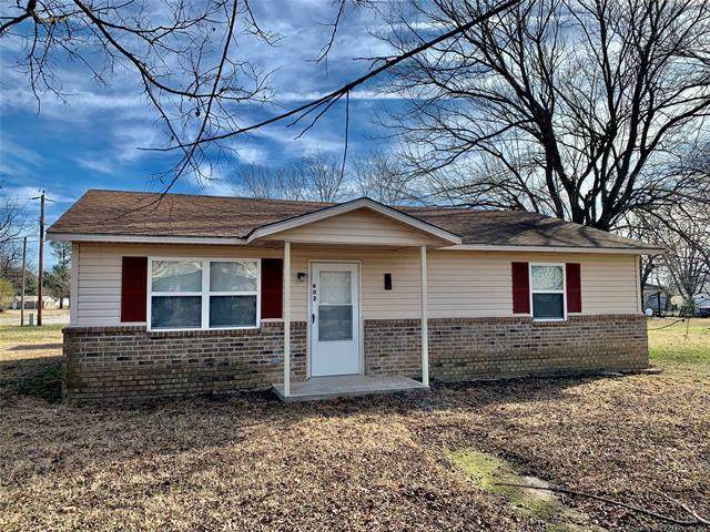 602 S Byrd Street, Coalgate, OK 74538 (MLS #2044618) :: Hopper Group at RE/MAX Results