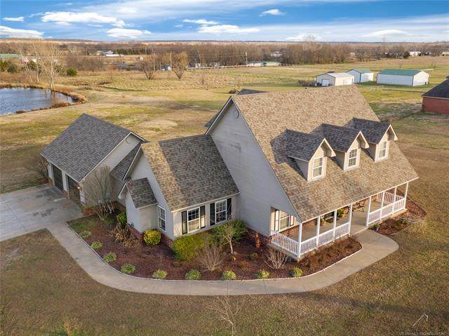 9505 S 4096 Road, Oologah, OK 74053 (MLS #2044698) :: Hopper Group at RE/MAX Results