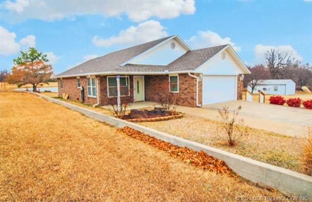 92 Walnut Ridge, Eufaula, OK 74432 (MLS #2044952) :: RE/MAX T-town