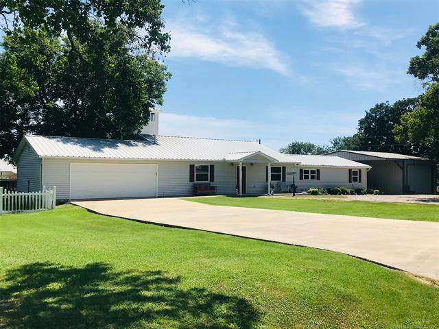 8929 Homestead Road, Kingston, OK 73439 (MLS #2100073) :: 918HomeTeam - KW Realty Preferred