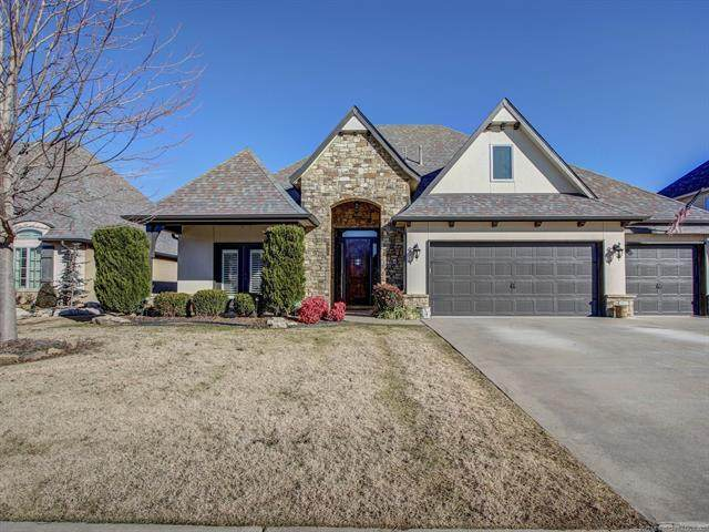 219 E 128th Street S, Jenks, OK 74037 (MLS #2100456) :: RE/MAX T-town