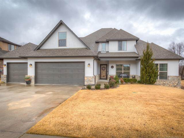 14460 S Hudson Avenue, Bixby, OK 74008 (MLS #2100531) :: Hopper Group at RE/MAX Results