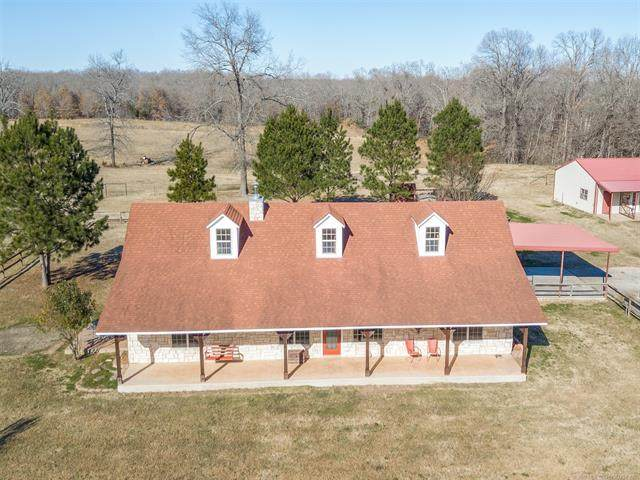 4998 W Clear Branch W B, Atoka, OK 74525 (MLS #2100558) :: House Properties