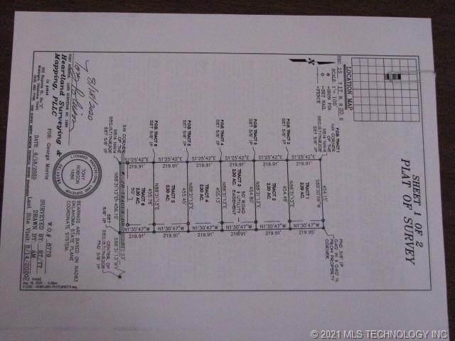 7526 W Jb Teague Road, Hulbert, OK 74441 (MLS #2100580) :: RE/MAX T-town